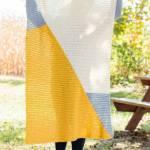 Easy Chevron Crochet Blanket