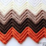 Two Triangle Crochet Baby Blanket