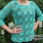Crochet Starburst Hexagon Pattern