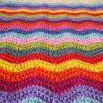 Catherine Wheel Crochet Blanket