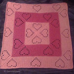 Pentagonal Penrose Throw Blanket Crochet