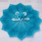 Dancing Mushroom Blanket Crochet