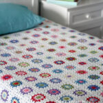 Granny Square Crocheted Afghan – By Daily Crochet