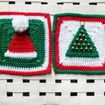 Modern Patchwork Throw Crochet