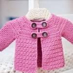 Hexagon Granny Baby Jacket