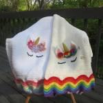 Simply Sweet Crochet Baby Blanket