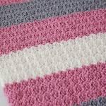 Tributary Free Beginner Crochet Baby Blanket