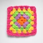 Crochet Candy Blanket / World's Easiest Blanket
