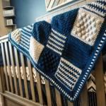 Red Buffalo Check Crochet Blanket