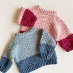 Modern Double Crochet V-Stitch Blanket