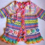White Summer Crochet Dress