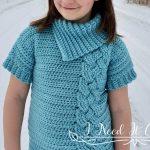 Crochet Pink Dots Baby Blanket
