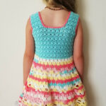 Safari Themed With 9 Crochet Jungle Animal Appliques Crochet Baby Blanket